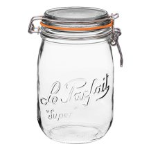 similar high quality glass pantry organization jars